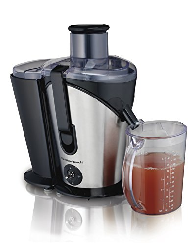 Hamilton Beach Juice Extractor, 2- Speed Big Mouth, Black (67750) (Inexpensive Juicers compare prices)