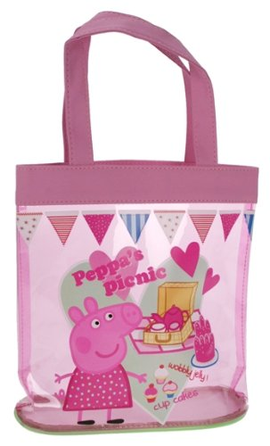 Imagen principal de Trade Mark Collections - Bolso de picnic, diseño de Peppa Pig, color rosa
