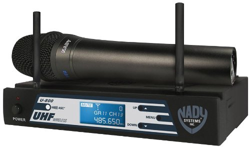 Nady U-800 Ht Uhf 800-Channel Pll Synthesized Wireless Handheld Microphone System