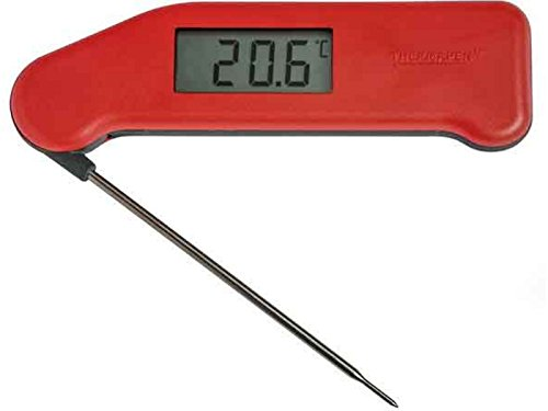 SuperFast Thermapen thermomètre numérique - Rouge