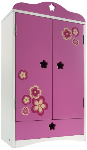 "Madame Alexander Favorite Friends Wood Armoire For 18"" Dolls front-635745"