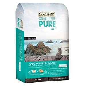 Canidae Grain Free Pure Sea All Life Stages Cat Food, 4 lbs.