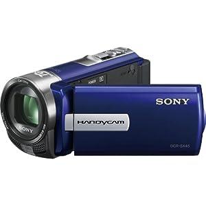Sony DCR-SX45 Handycam Camcorder (Blue)