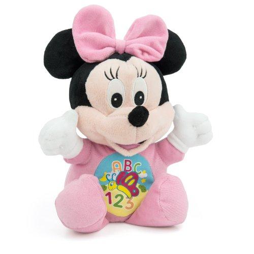 Clementoni - Tenero Peluche Educativo Baby Minnie