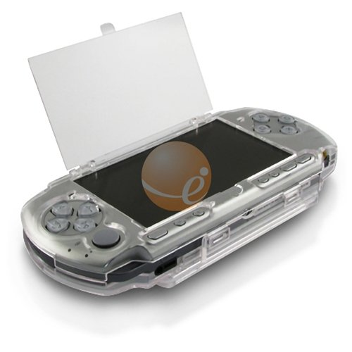 Clip on Crystal Case for Sony PSP 3000, Clear