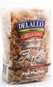 Amazon.com : Delallo Farfalle Whole Wheat Pasta, 16-Ounce (Pack of 8