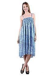 Selfiwear SW-512 Pc.Cotton Dress