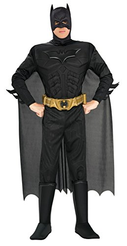 Rubies Mens Batman Marvel Deluxe Superhero Theme Party Halloween Costume