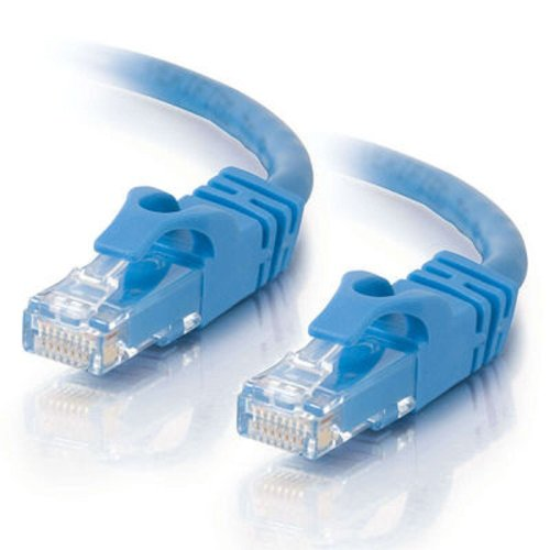 Cables To Go 27140 Cat6 550 MHz Snagless Patch Cable, Blue (1 Foot)