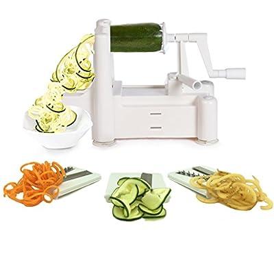Spiral Vegetable Slicer Spiralizer Veggie Chopper Cutter Kitchen Tools
