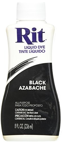 Rit Dye Liquid Fabric Dye, 8-Ounce, Black (Anodizing Dye compare prices)