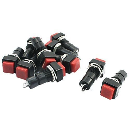 5-a-250-v-montaggio-pannello-2-pin-radio-shack-spst-interruttore-momentaneo-10-a-pulsante