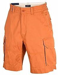 Polo Ralph Lauren Men\'s Gellar Fatigue Cargo Shorts-T Orange-30