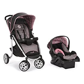 Safety 1st Aerolite Sports Travel System, Eiffel Rose