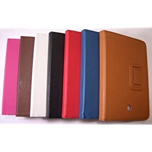 PU Leather Case for T-Mobile Springboard (Huawei MediaPad) Tablet