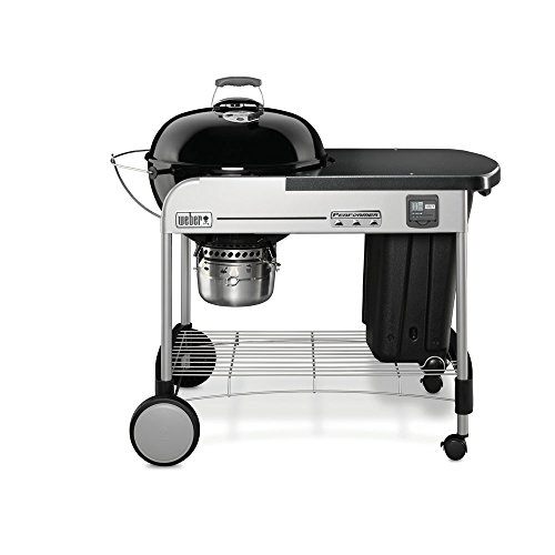 Weber 15401001 Performer Premium Charcoal Grill, 22-Inch, Black (22 Inch Weber Grill compare prices)