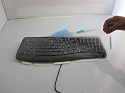 Viziflex\'s Biosafe Anti Microbial Keyboard cover fitting Microsoft Comfort Curve 3000