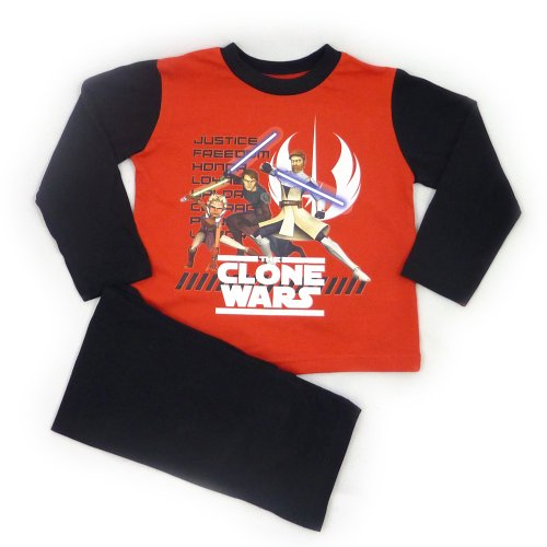 Star Wars Clone Wars Pyjamas - Justice - From Age 3 to 10 Years