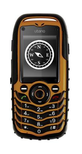Auro Utano V2 Handy (1,3 Megapixel Kamera, Dual-SIM) orange