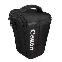 CowboyStudio Waterproof Triangle Small Camera Bag Case for Canon EOS 550D 600D 650D 1100D 1000D 60D 400D 450D