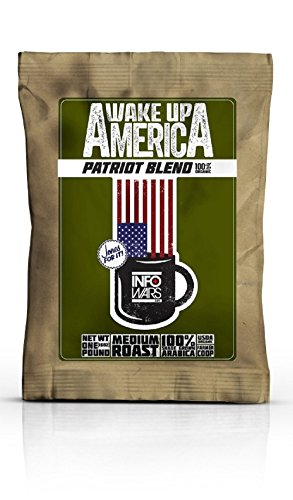 Wake up America Patriot Blend - 100% Certified Organic Medium Roasted Aribica Coffee Beans That Are Shade-grown in Chiapas, Mexico At the Ideal Altitude! (America Grown compare prices)