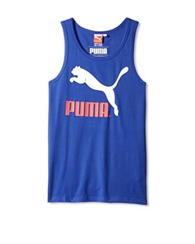 PUMA Men's Logo Tank