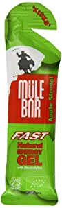 MuleBar Organic Kicks Apple Strudel Natural Energy Gel 37g - Box of 24