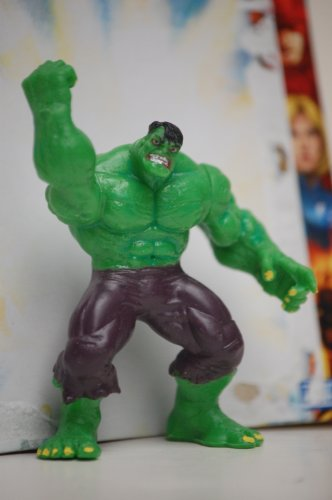 "Hulk Marvel Heroes 2.5"" poseable action figure - 1"