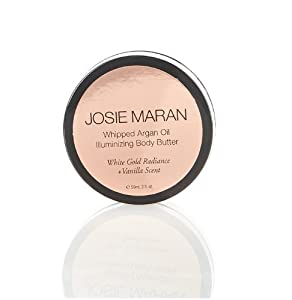 josie maran whipped argan oil illuminizing body butter white gold radiance. Black Bedroom Furniture Sets. Home Design Ideas