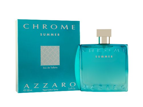 Azzaro, Chrome Summer, Eau de Toilette da uomo, 100 ml