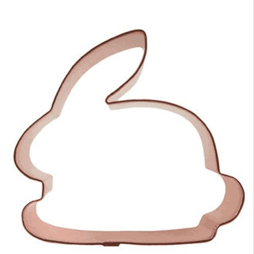 Bunny Rabbit Copper Cookie Cutter