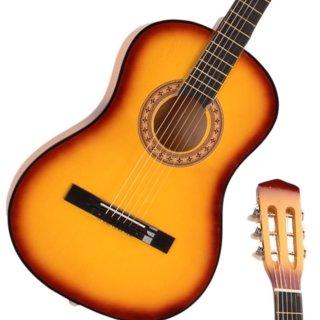 Moppi Beginner 38″ Folk Akustik-Gitarre-Set mit Zubehör gelb jetzt kaufen