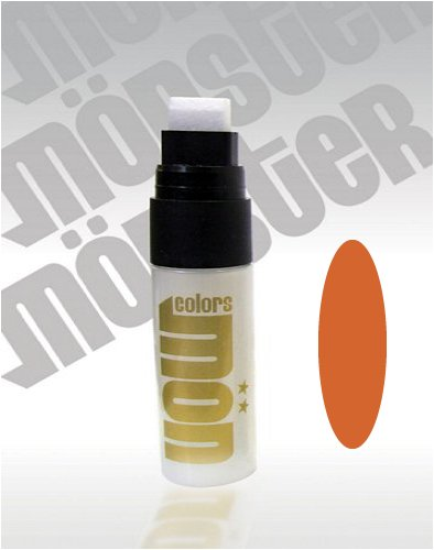 Orange Pocket Paint Marker Pen SuperMini 15mm Tip