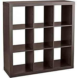 Better Homes And Gardens 9 Cube Organizer Storage Bookcase Bookshelf Cabinet