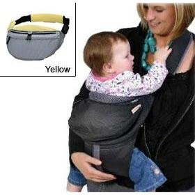 Combi Urban Baby Carrier Yellow front-477642