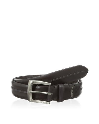 John Varvatos Men's Harness Buckle Leather Belt