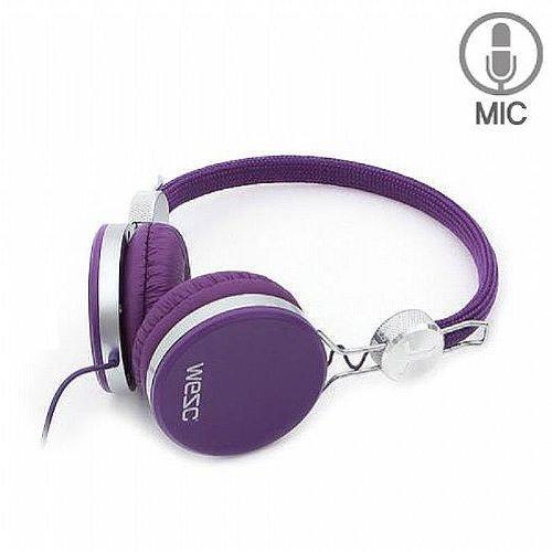 Wesc Banjo Headphones (purple passion)の写真01。おしゃれなヘッドホンをおすすめ-HEADMAN(ヘッドマン)-