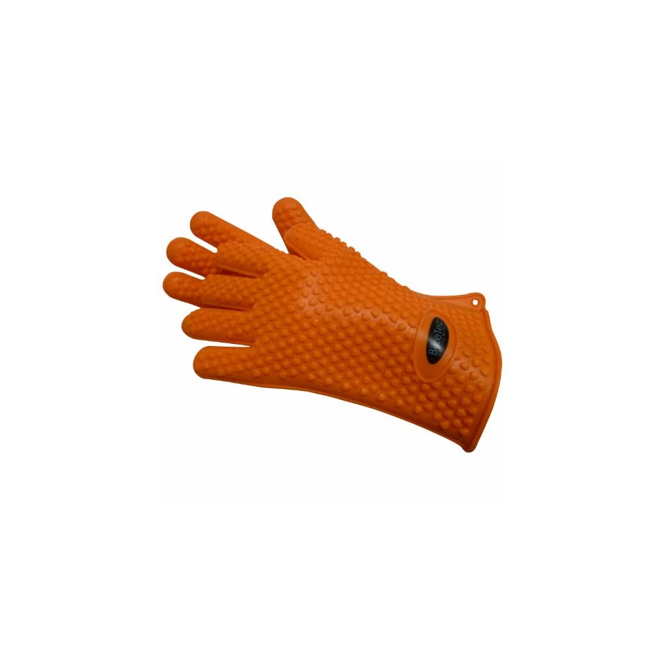 BlizeTec Oven Barbecue Gloves Heat Resistant, Non stick yet Waterproof (1 Pair)