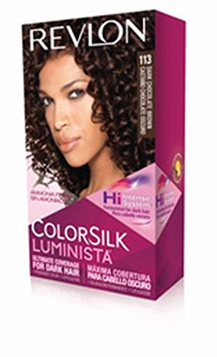 Revlon Colorsilk Luminista Hair Dye, Dark Chocolate Brown