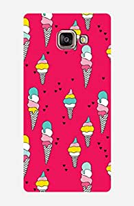 ZAPCASE Printed Back Case for Samsung galaxy A7 2016 edition