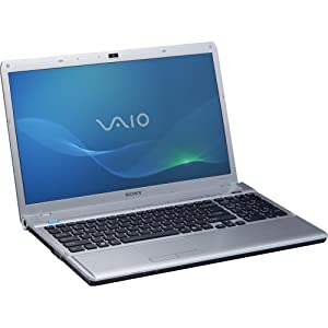 "Sony VAIO(R) VPCF125FX/H F Series 16.4"" Notebook PC - Titanium Gray"