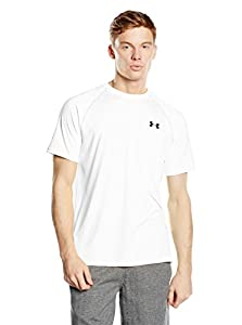 Under Armour Men's Tech Short Sleeve Tee, White ,MD