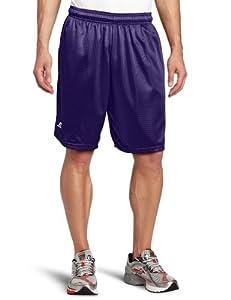 Russell Athletic Men's Mesh Pocket Short, Purple, Small