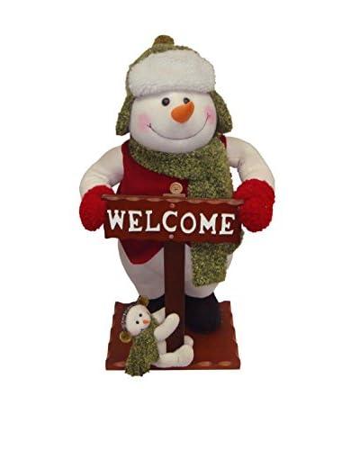 National Tree Company 26 Snowman