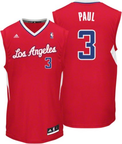 NBA Los Angeles Clippers Chris Paul #3 Youth Replica Road Jersey, Red
