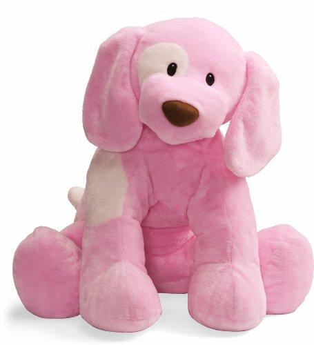 Gund Baby Spunky Plush Puppy Toy, X-Large, Pink front-28228