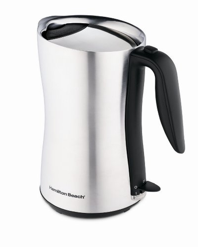 Sale!! Hamilton Beach 40898 Cool-Touch 8-Cup Cordless Electric Kettle