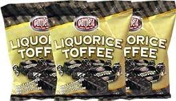 Oatfield Liquorice Toffee 170g (6oz) 3 Pack