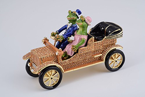 Mr-Mrs-Frog-Car-Fabrege-Style-Trinket-Box-Decorated-with-Austrian-Crystals