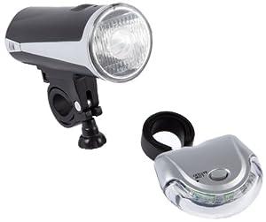Ultrasport LED Fahrradlampen Set